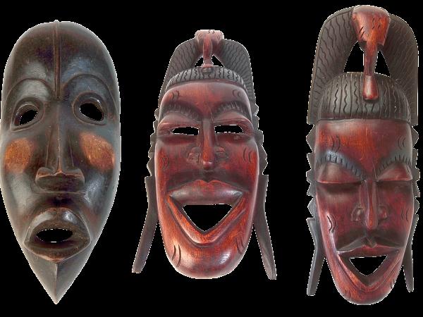 Maski afrykańskie - Sklep Afrykański
